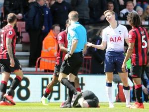 Nathan Ake's late header finally breaks nine-man Spurs' resistance