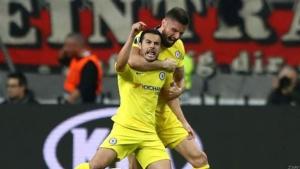 Pedro Helps Chelsea Gain Away Goal Advantage