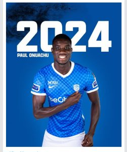 Read more about the article Paul Onuachu: Genk extend Super Eagles striker's contract.