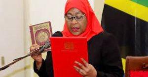 Read more about the article Tanzanian president appoints first woman defense minister.